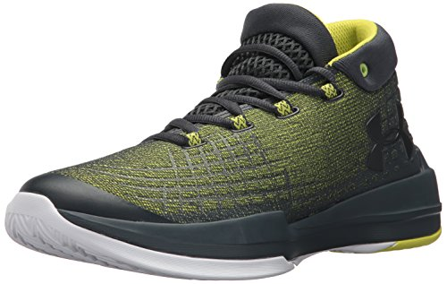 Under Armour Men's NXT Basketball Shoe, Smash Yellow (772)/Stealth Gray, 9.5