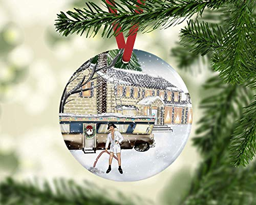 Ca565urs Cousin Eddie Christmas Vacation Ornament Griswold Family Clark Griswold Eddies Rv Funny Christmas Ornament Dirty Santa Gift