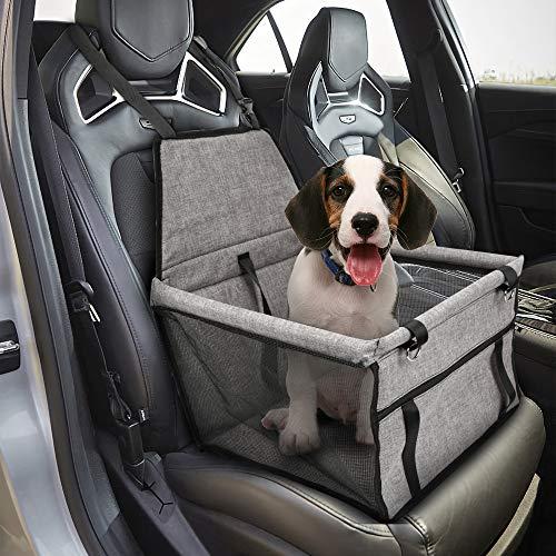 Hengda Hunde autositz, extra stabile Auto Hundesitz, Wasserdichter und atmungsaktiver Hundesitz, für kleine bis mittlere Hunde, für Rück- und Vordersitz
