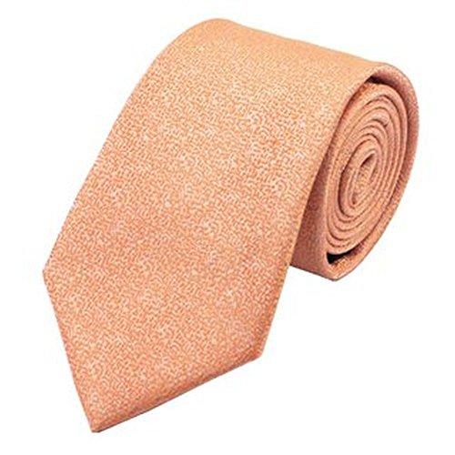 Jason & vogue designer cravate 100% soie coral fin avec motifs
