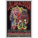wzgsffs Lollapalooza Music Festival Poster Und Drucke