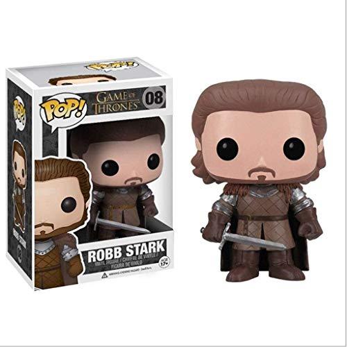 YUEDAI HBO: Juego de Tronos - Robb Stark en Caja Adornos Juego De Tronos Regalos Figura Coleccionable 10CM