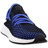 Adidas Men's Shoes Deerupt Runner Parley Black Blue White size 6