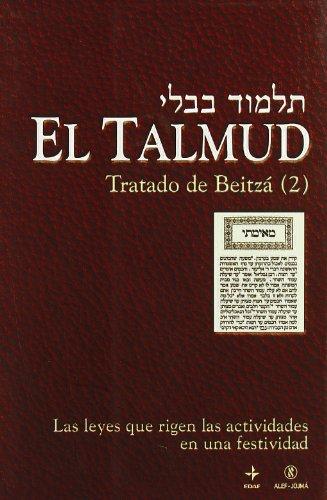 Talmud, Tratado De Beitza Ii (Proyecto Hebraico)