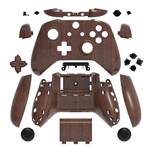 FangWWW Schutzhülle für Xbox One Slim Case Zubehör Mod Kit Ersatz Full Set Cover Gehäuse