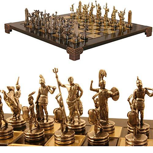 Übergames Dekoratives Schach Spiel Poseidon