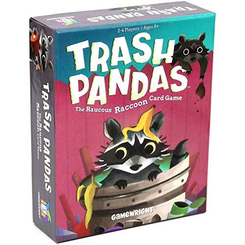 NINGXUE Trash Pandas Tarjetas de Juego de Mesa Juguetes Card Juego de Cartas en inglés