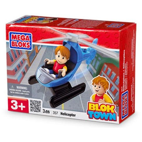 Mega Bloks - Blok Town Vehicle - HELICOPTER