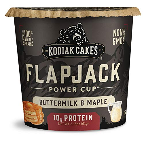 Kodiak Cakes Pancake On the Go Buttermilk and Maple 215 Ounce Pack of 12