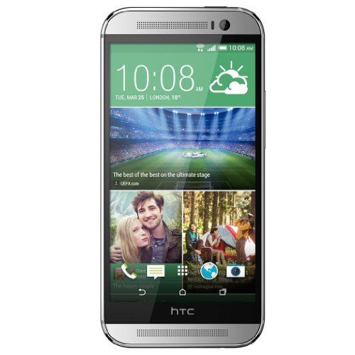 HTC One (M8) 4G Plata - Smartphone (12,7 cm (5'), 1080 x 1920 Pixeles, Multi-touch, 2,3 GHz, Qualcomm Snapdragon, 2048 MB)