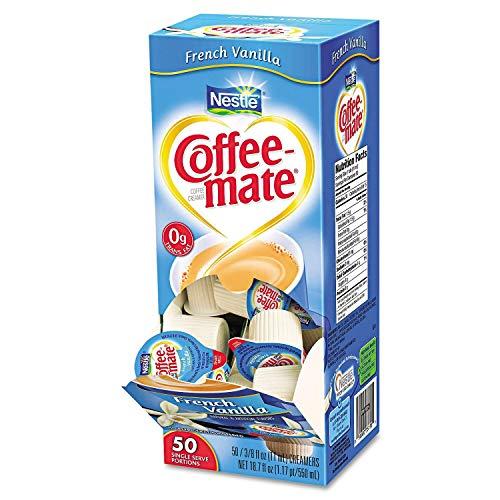 Product of Nestle Coffee-mate Liquid Creamer Singles, French Vanilla (50 ct.)- Pack of 3 - [Bulk Savings]