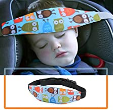 Car Seat Head Band Strap Headrest Accmor 2 Pcs Baby Carseat Head Support Strol