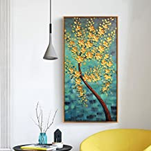 Paintsh Porch Decoration Drawing Living Room Hallway Meter Box Hanging Painting Fortune Tree, 40 * 80Cm, Fortune Tree - H...