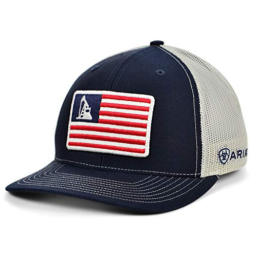 ARIAT USA Oil Rig Trucker Cap Blue