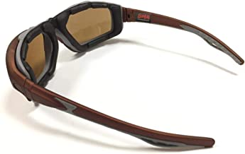 نظارات واقية للجنسين من الإسفنج للقيادة النارية من SMA عدسات بنية