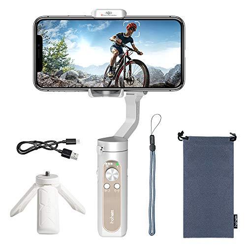 Estabilizador de Mano iSteady X Gimbal Estabilizador para Smartphone de 3 Ejes, para iPhone XS/XR/X/8/8/11 Plus, Samsung S10, S9, Note 9/8, Huawei P30,8 Horas de duración, 259 g One-Touch, 320