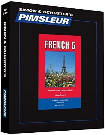 Pimsleur French Level 5 CD Learn to Speak and Understand French with Pimsleur Language Programs product image