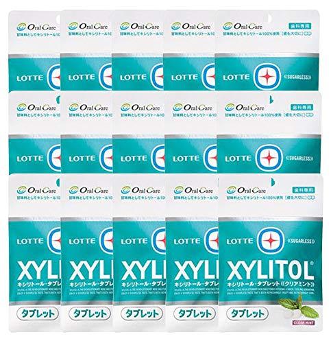 キシリトール タブレット クリアミント 1袋(35g) ×15袋
