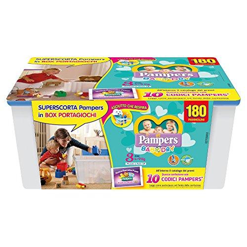 Pampers Baby Dry Windeln Box Baby Dry 3 - Midi
