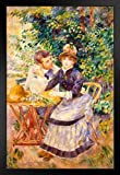 Pierre Auguste Renoir in The Garden Kunstdruck,