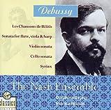Les Chansons de Bilitis / Sonata for flute, viola & harp / Violin sonata / Cello sonata / Syrinx