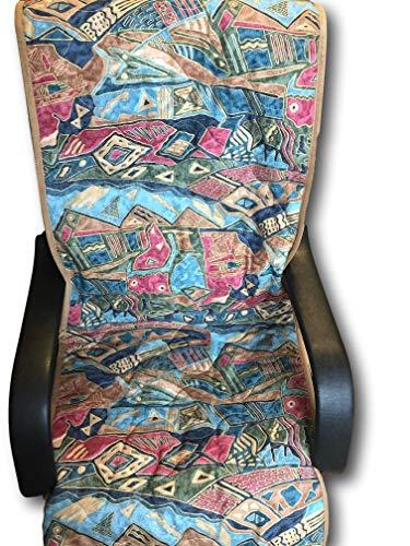 Alpenwolle Funda para sillón de Lana Alpina Cleopatra de 50 x 200 cm