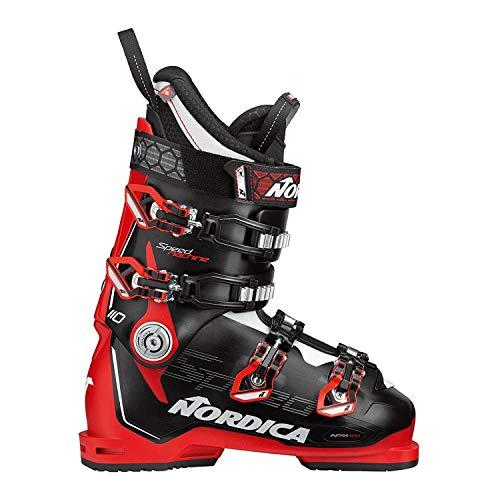 Nordica Skischuhe SPEEDMACHINE 110 X Schwarz/Rot/Weiß 31 Mondo