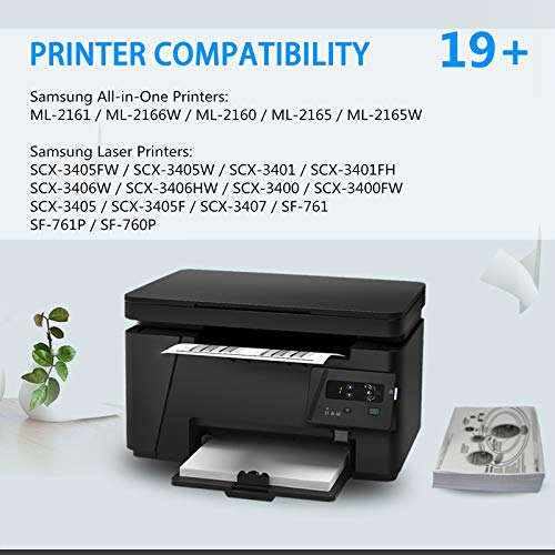 SuperInk Compatible Toner Cartridge Replacement for Samsung 101 MLT-D101S Compatible with ML-2165W SCX-3400FW SP-760P SCX-3405FW SCX-3400F Printer (2 Pack) Photo #4