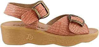 Famolare Women's DOUBLEPLAY Ankle-Strap Wedge Sandal
