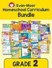 Evan-Moor Homeschool Teaching Resource Curriculum Bundle, Grade 2 - 18 Supplemental Workbooks - includes Reading, Writing, Vocabulary, ... Arts, Math, Science, and Social Studies
