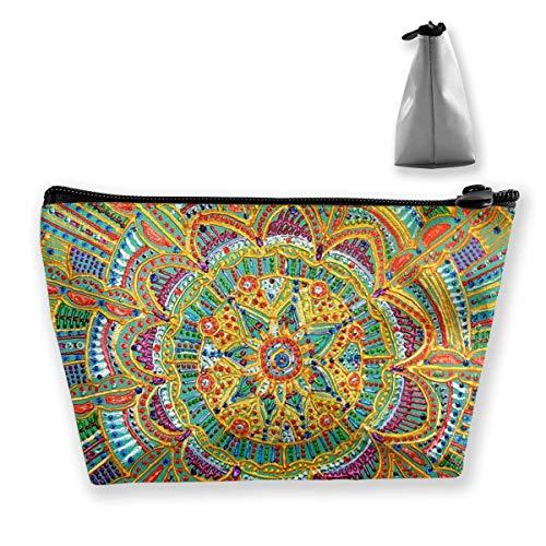 Kaleidoskop Malerei Make-up Tasche Reißverschluss Organizer Tragbare Kosmetiktaschen für Frauen