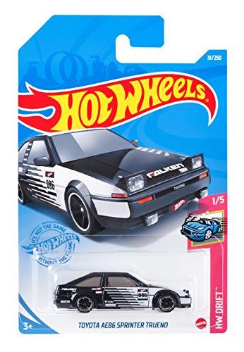 ホットウィール(Hot Wheels) ベーシックカー トヨタ AE86 スプリンター トレノ HCM39