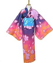 Family Cos Luka Meiko Kaito LEN Printing Kimono Cosplay Costume Daily Bathrobe