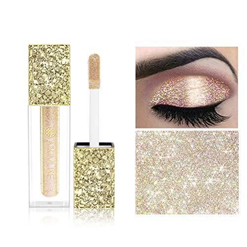Rabusion Health For Glitter Liquid Eyeshadow Waterproof Long Lasting Shiny Eyeliner Professional Eye Makeup A04#