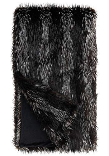 Donna Salyers' Fabulous-Furs Limited Edition Midnight Fox Faux Fur Throws (60x86 in) (Midnight Fox) -  Fabulous Furs