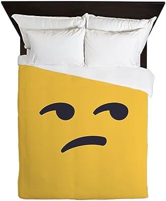 Amazon.com: CafePress – Alien Emoji cara – Queen funda de ...