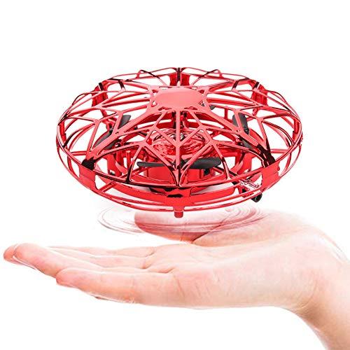 Mini Drohne für Kinder, Air UFO Kinder Spielzeug Handgesteuerte Hubschrauber RC Quadcopter Induktion Schwimm Control Fliegen Spielzeug Flugzeug Geschenke für Jungen Mädchen Erwachsene Indoor Outdoor
