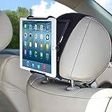 TFY ユニバーサルデザイン 車載ヘッドレスト用ホルダー 角度の調整可能 6-12.9インチのタブレットをしっかり固定