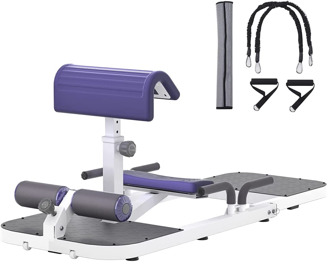 seanleecore Protable Deep Squat Machine & Hip Thrust Machine for Home Gym Glutes Workout Station Leg Exercise Machine Glute Trainer Gluteal Muscle Training