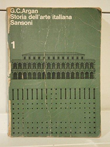 Storia dell'arte italiana vol. 1