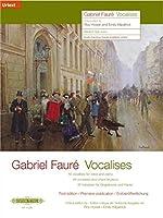 Vocalises: 45 Vokalisen fuer Singstimme und Klavier