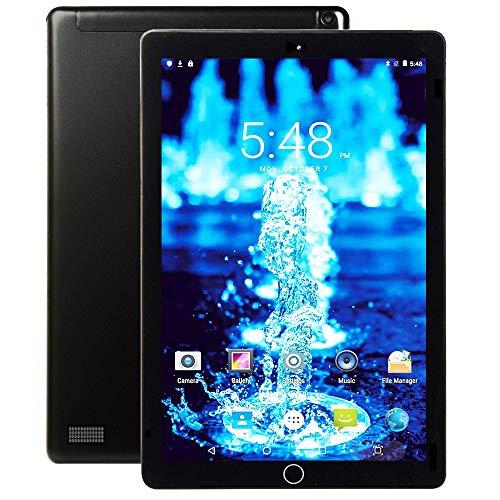 4G LTE Tablet 10 Pollici con Wifi Offerte 3GB RAM 32GB ROM Espandibili, Tablet PC Android 9.0 CPU Quad-Core Batteria 8000mAh Dual SIM HD Camera Doppio Altoparlante/Bluetooth/GPS/OTG