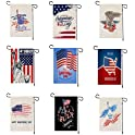 Goodfans American Independence Day Double-Sided Printing Flags