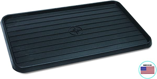 WirthCo 40098 Multi Use Mat Boot Tray Black 15 X 25 X 75