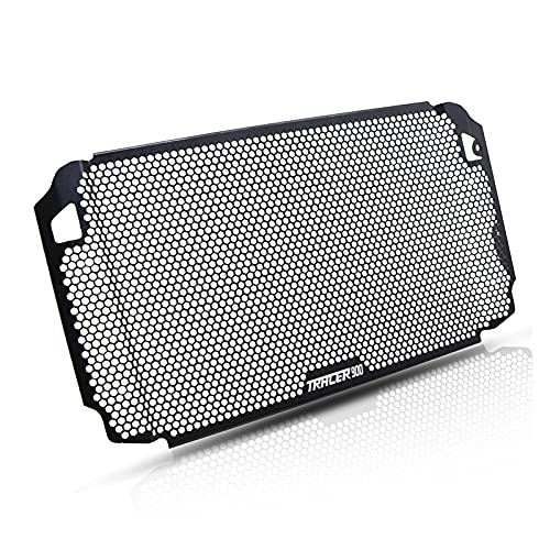 Rumors Radiator Guard Tracer 900 GT Radiator Grille Cubierta Protector Ajuste para Yamaha Tracer 900 TRACER900 ABS 900 GT 900GT 2018 2019 2020 (Color : Tracer 900 Logo)