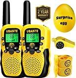 Walkie Talkies for Kids, 22 Channels 2 Way Radio Kid Gift Toy 3 Miles Long Range with Backlit LCD Flashlight Best Gifts Toys for Boys and Girls to Outside Adventure, Camping 2 Pack, Boys Toys , Girls