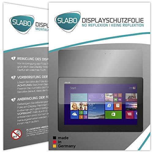 Slabo 2 x Displayschutzfolie Medion Akoya (P2211T MD98602 / P2212T MD99360) Folie No Reflexion|Keine Reflektion MATT - Entspiegelnd Made IN Germany