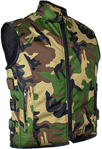 MDM Camouflage Bikerweste (3XL)
