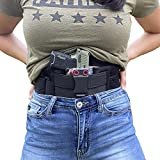 Best Iwb Holsters - STRAPT-TAC Belly Band Holster ~ Use with Any Review