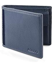 [イタリアの牛革] 二つ折り財布 財布 メンズ 本革 薄型 男性のサイフ 2つ折り 紳士 Jum fly